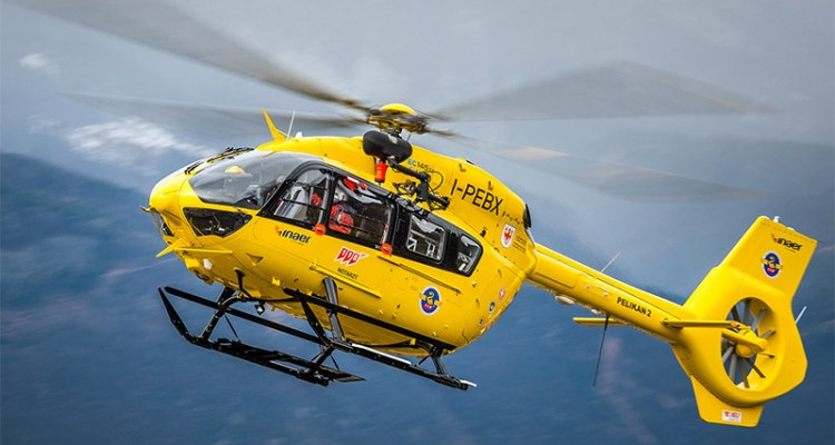 elisoccoro in alto adige airbus helicopter H-145
