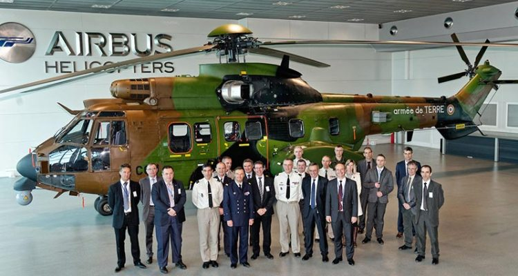 AS532 per Aviation Légère de l'Armée de Terre francese