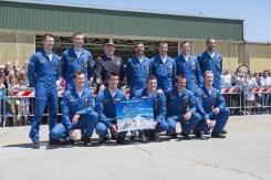 Formazione dei piloti Frecce Tricolori 2015