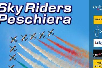 Locandina sky riders 2015 peschiera del garda airshow