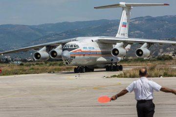 chiusi gli spazi aerei ai velivoli russi diretti in siria