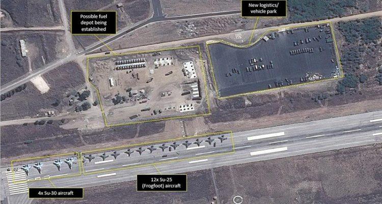aerei ed elicotteri russi in siria