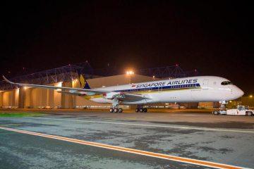 airbus a350 xwb per singapore airlines
