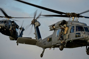 HH-60 Pave Hawk USAFE 56th e 57th rescue squadron