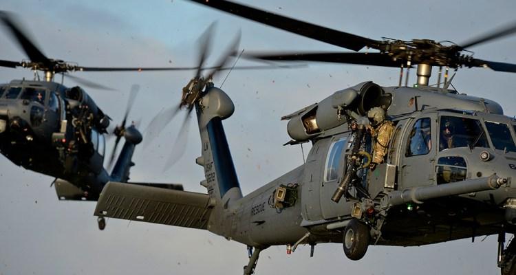 HH-60 Pave Hawk USAFE 56th e 57th rescue squadron