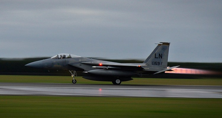 usaf f-15c eagle arrivano in turchia