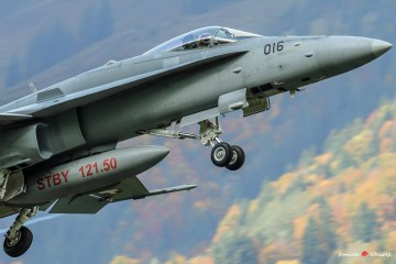 f-18 hornet swiss air force