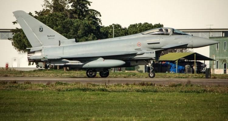 scrable eurofighter typhoon 4 stormo grosseto aeronautica militare