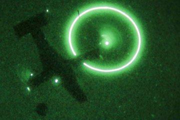 mv22 osprey us marine corps di notte