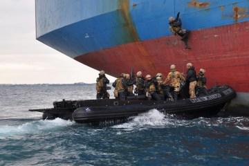 boarding team del 2° reggimento san marco