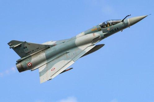 Mirage 2000 francesi al DAC 2016