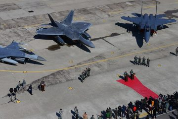 usaf F-22A raptor kadena air base