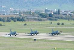 eurofigher typhoon aeronautica militare partenza per nellis afb