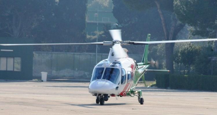 elicottero A-109 della Guardia Nazionale di Frontiera della Repubblica di Lettonia