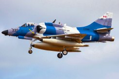 A-4 Skyhawk al DACT 2016 alle Canarie