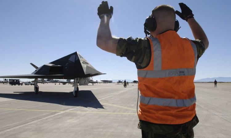 Silver F-117 Stealth Celebration