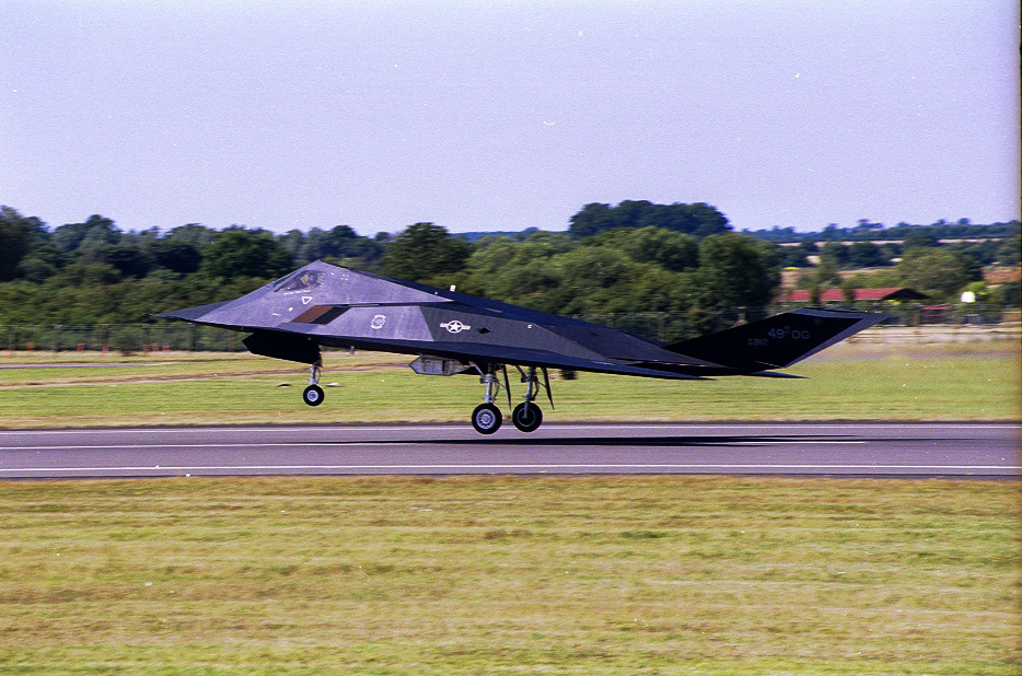 F117A Stealth Fighter