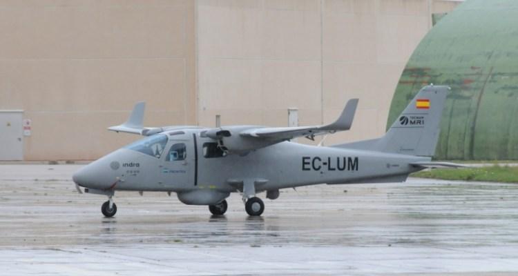 aereo p2006t spagnolo alla frontex