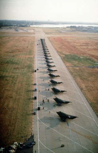 F-117 DESERT SHIELD DEPLOYMENT