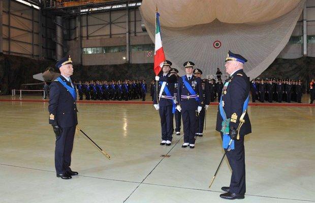 cambio di capo di stato maggiore dell'aeronautica militare 2016