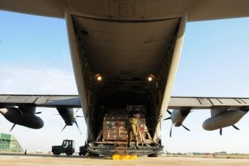 C-130J Hercules trasporti umanitari