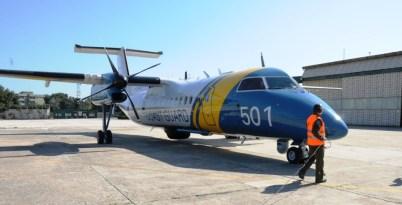 Frontex Dash 8Q-300 (DH8C) Guardia Costiera svedese