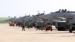 foto degli eurofighter del 37 Stormo
