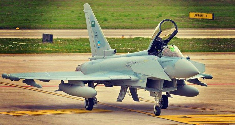 eurofighter typhoon royal saudi air force