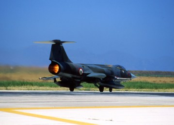F-104S Starfighter 18° gruppo volo aeronautica militare