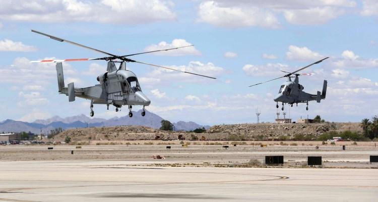 USMC Kaman K-MAX Helicopters