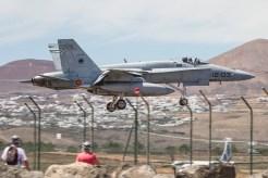 foto degli f-18 hornet ejercito del aire spagnoli