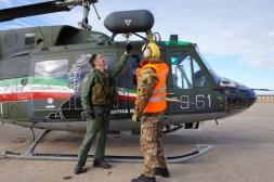 Controlli pre-volo da parte del personale specialista e pilota