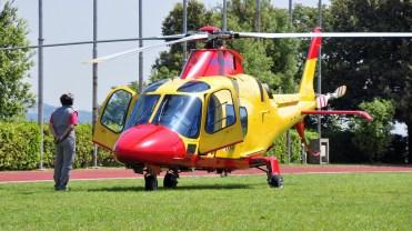 foto elicottero hems 118 napoli