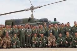 Foto di gruppo della rappresentanza italiana con il Generale Lodovisi