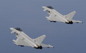 scramble eurofighter typhoon aeronautica militare
