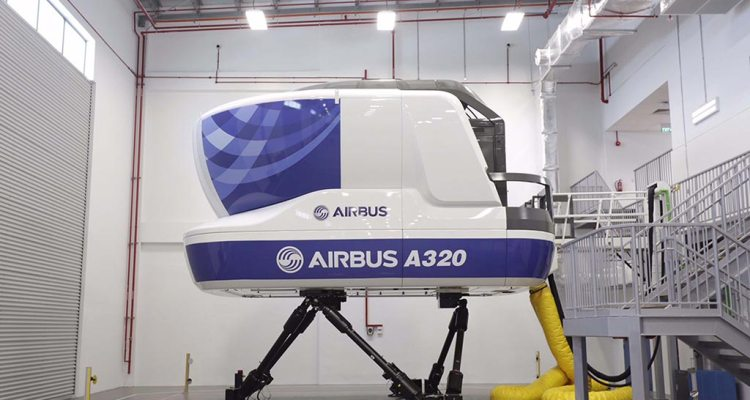 Airbus Asia Training Centre in Singapore