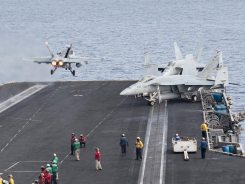 f-18 hornet us navy cvn-75 uss harry truman