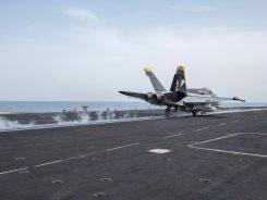 us navy f-18 hornet portaerei americane