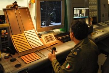 Sala controllo traffico aereo a Sigonella
