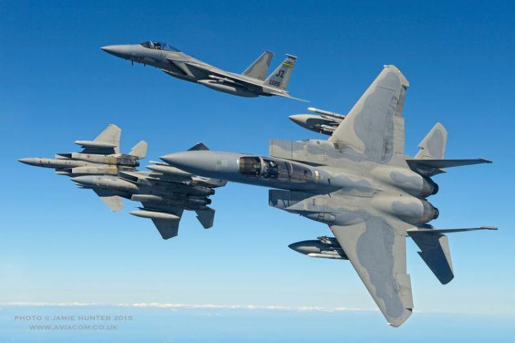 caccia americano F-15 Eagle
