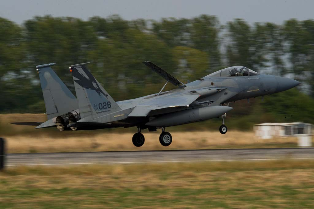 F-15C Eagle USAF Nato Air Policing
