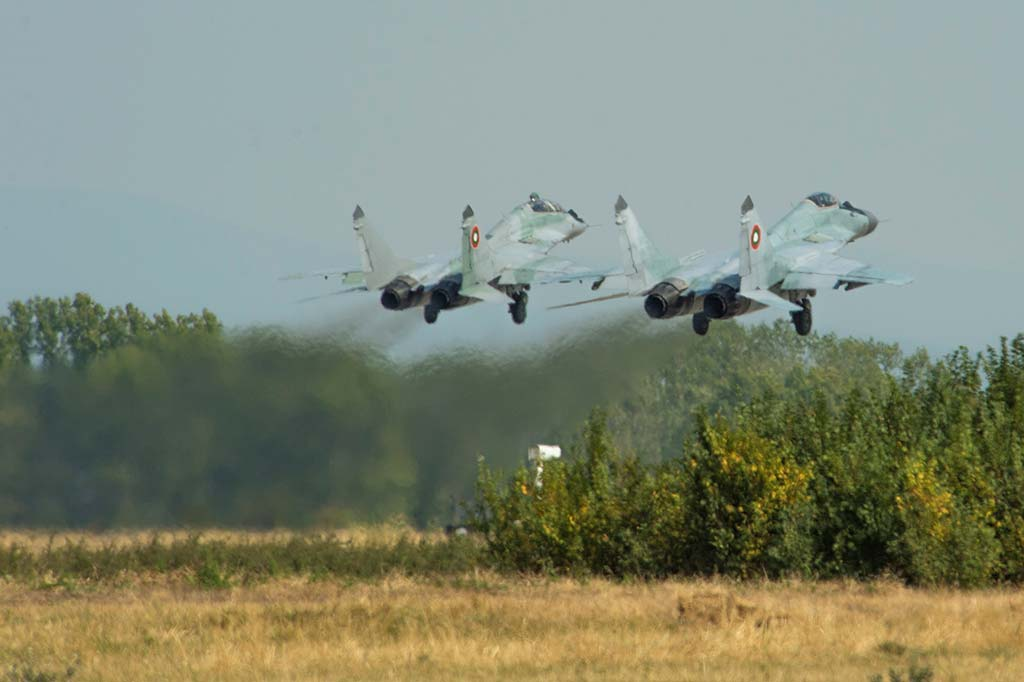 Mig-29 Fulcrum Bulgarian Air Force