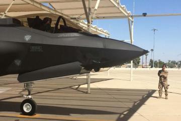 gli F-35 italiani al pilot training center negli stati uniti