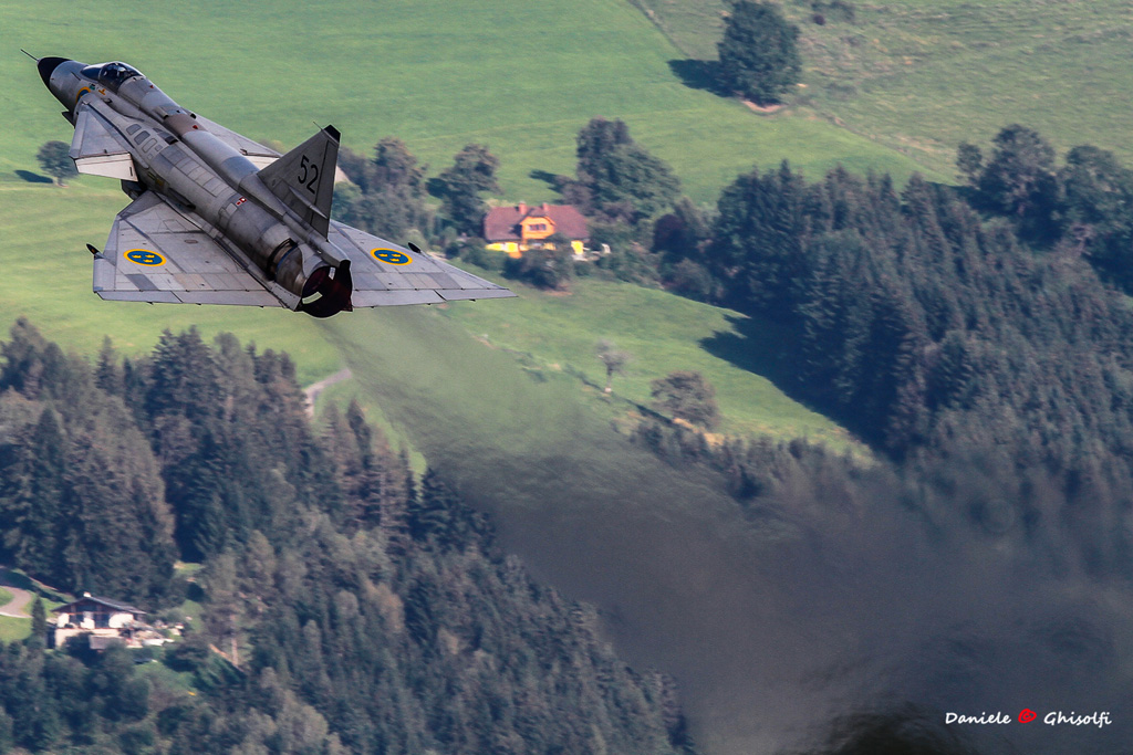 AJS-37 Viggen Swedish Air Force Historic Flight