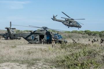 esercitazione airmobile permanent training IV