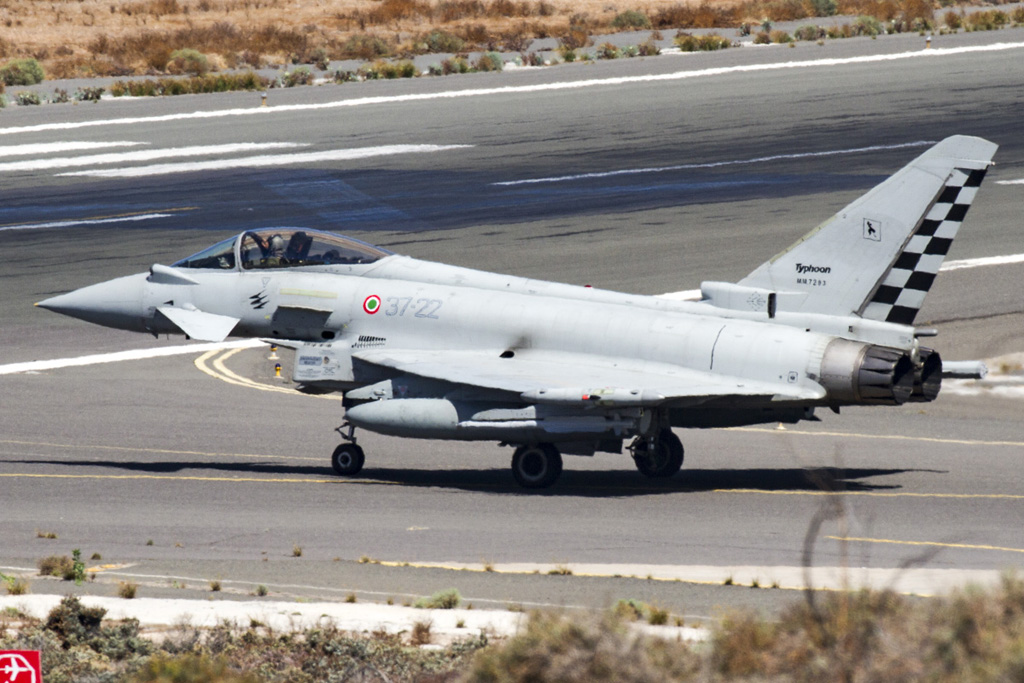 Eurofighter italiani a Gran Canaria
