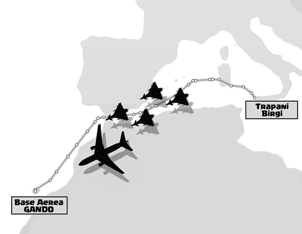 Rotta Trapani - Gando