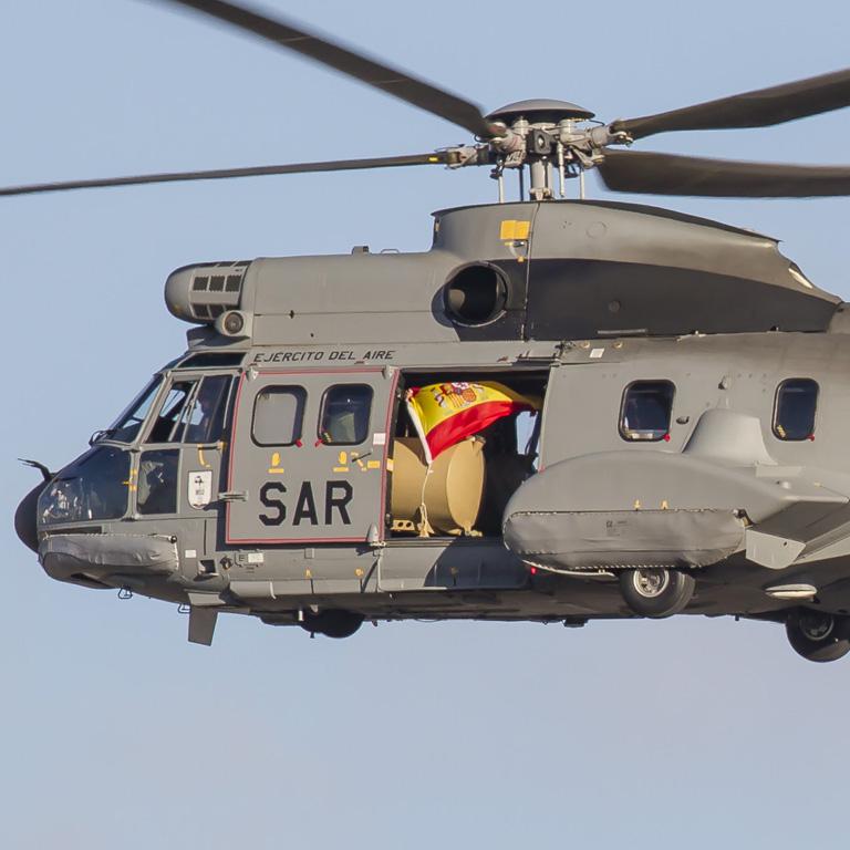 Formazione SAR Ejercito del Aire Canarie
