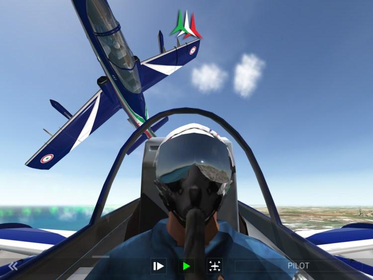 Frecce Tricolori Flight Simulator