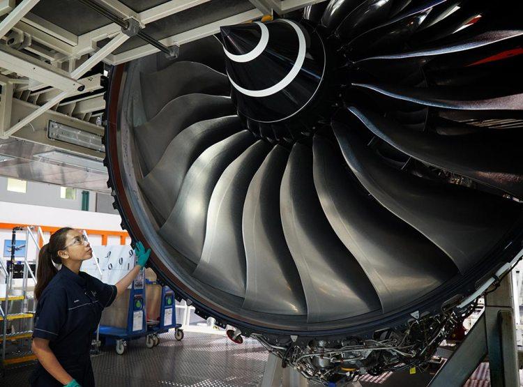 motore Rolls-Royce Trent TEN